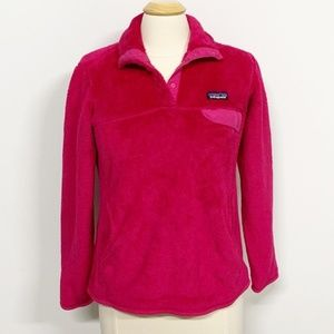 Patagonia | Re-tool Snap-T Fleece Pullover Pink M